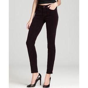 J Brand | Jeans Skinny Leg Corduroy Mulberry 24